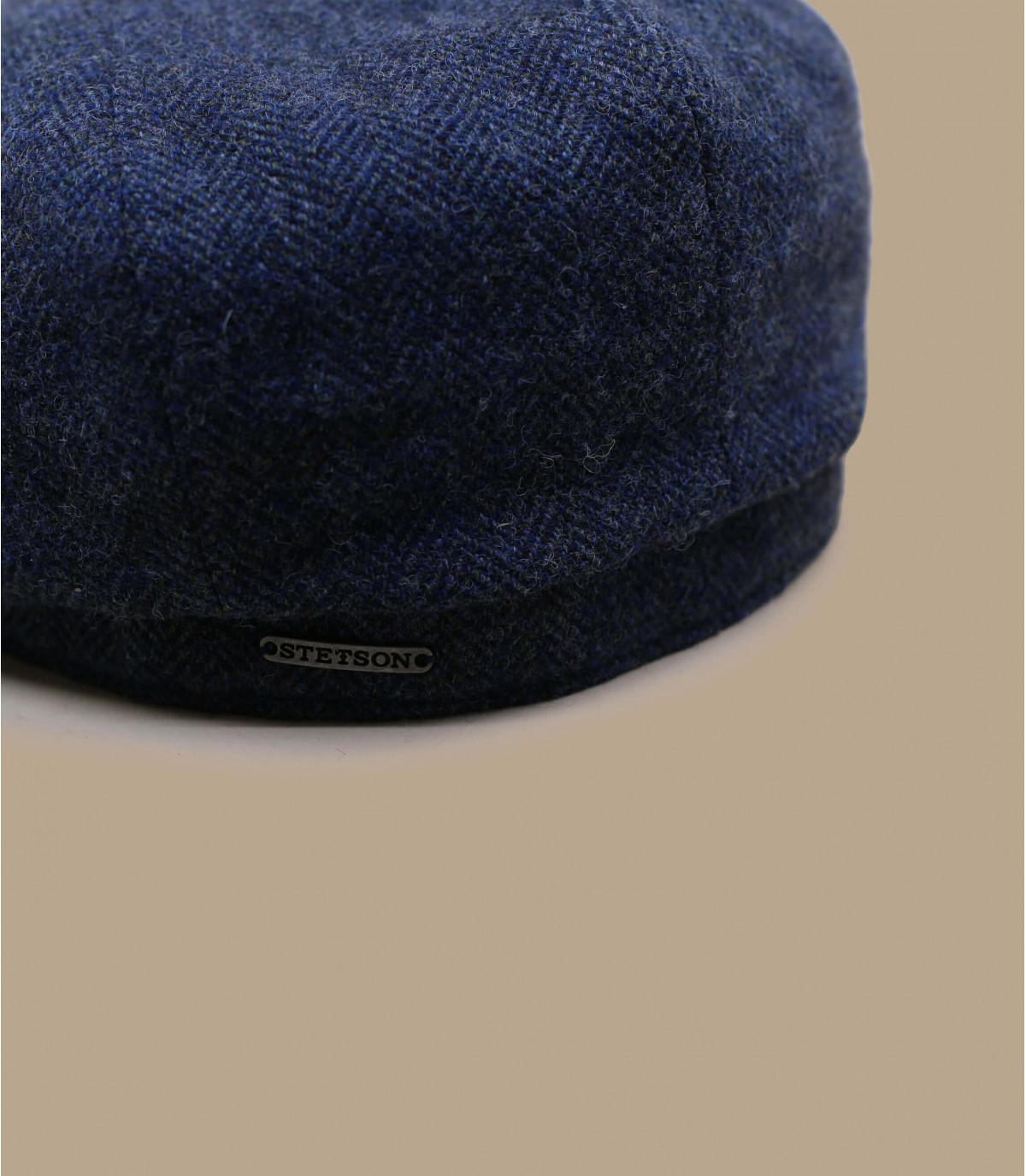 béret gavroche bleu laine