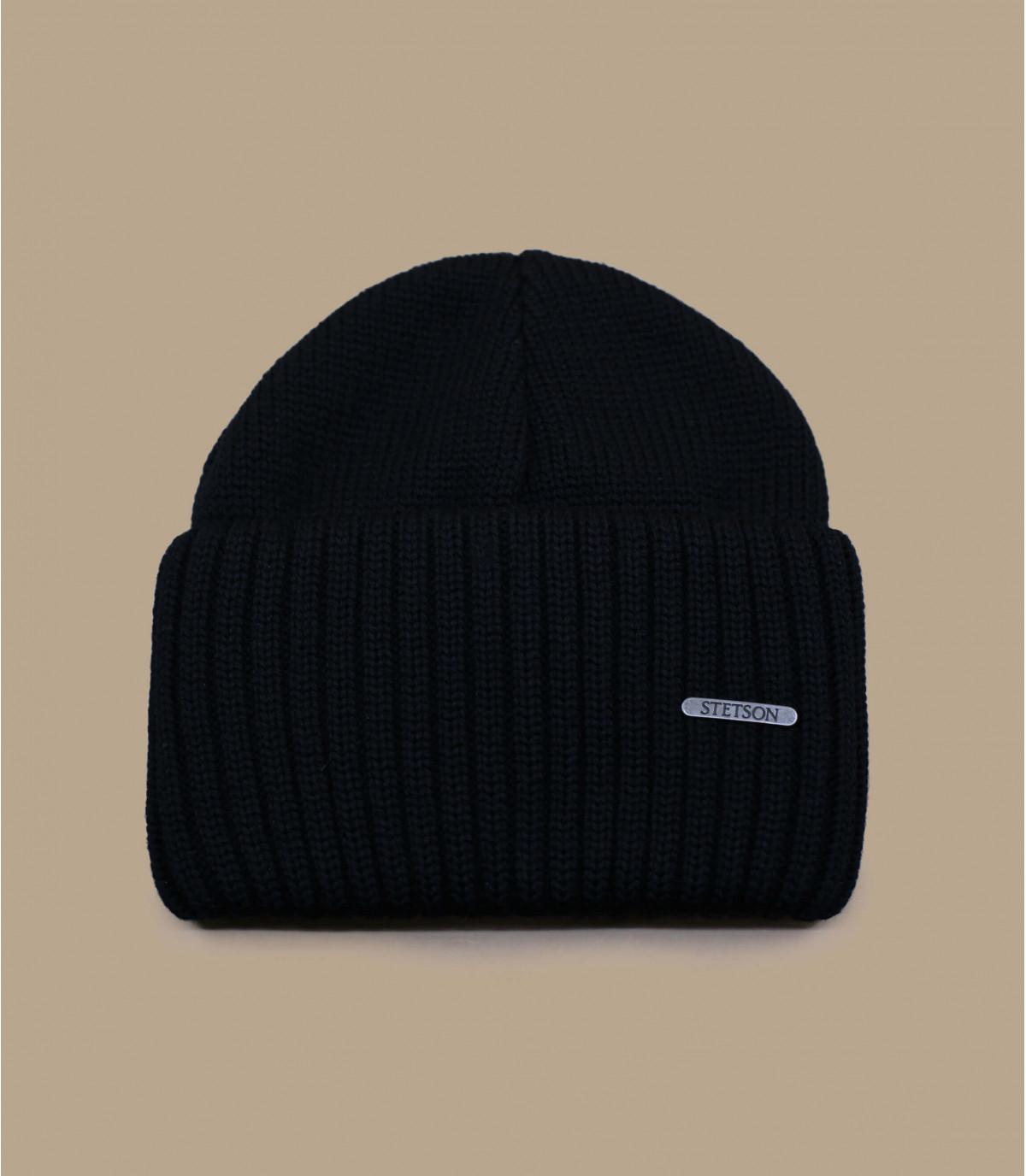 bonnet noir stetson