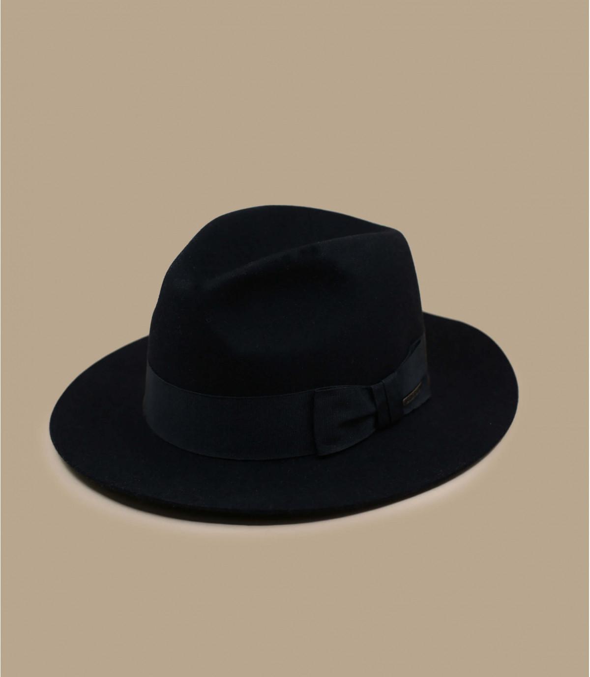 Chapeau femme Stetson noir