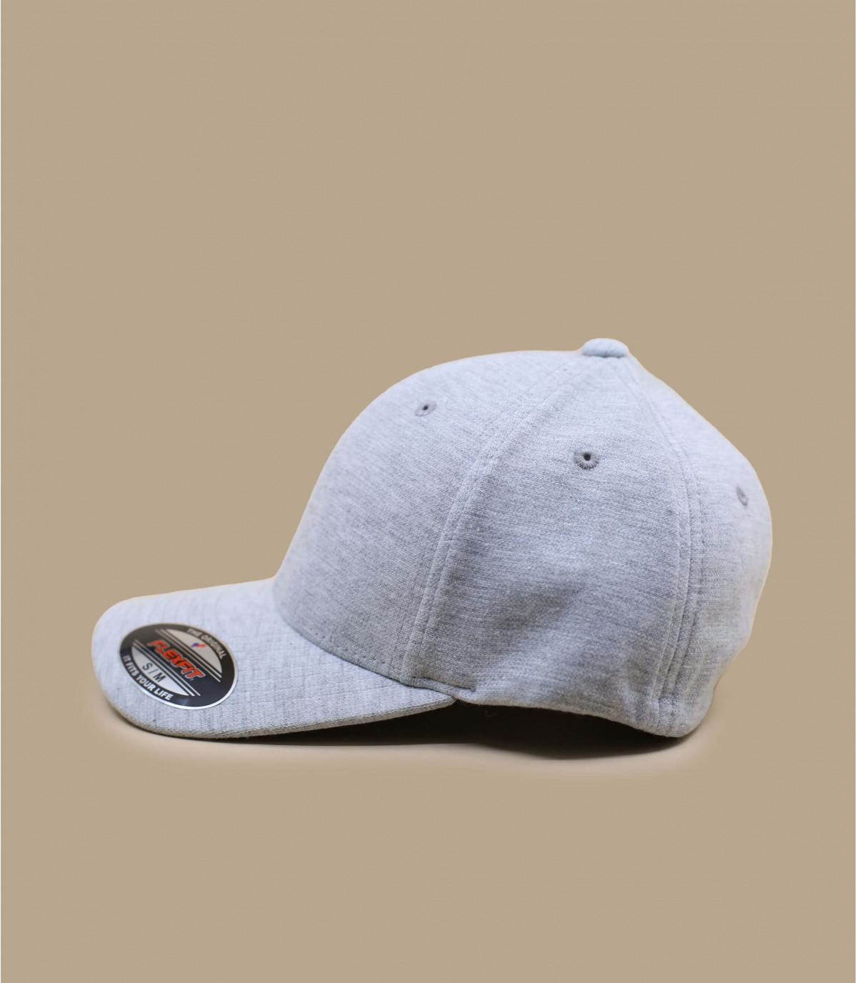 casquette jersey grise