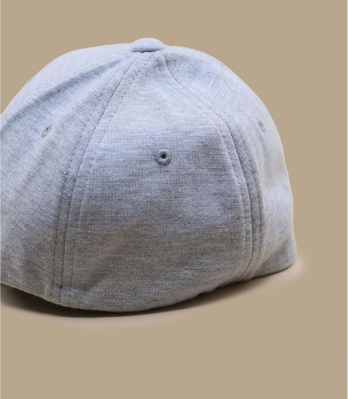 Détails Casquette jersey gris - image 3