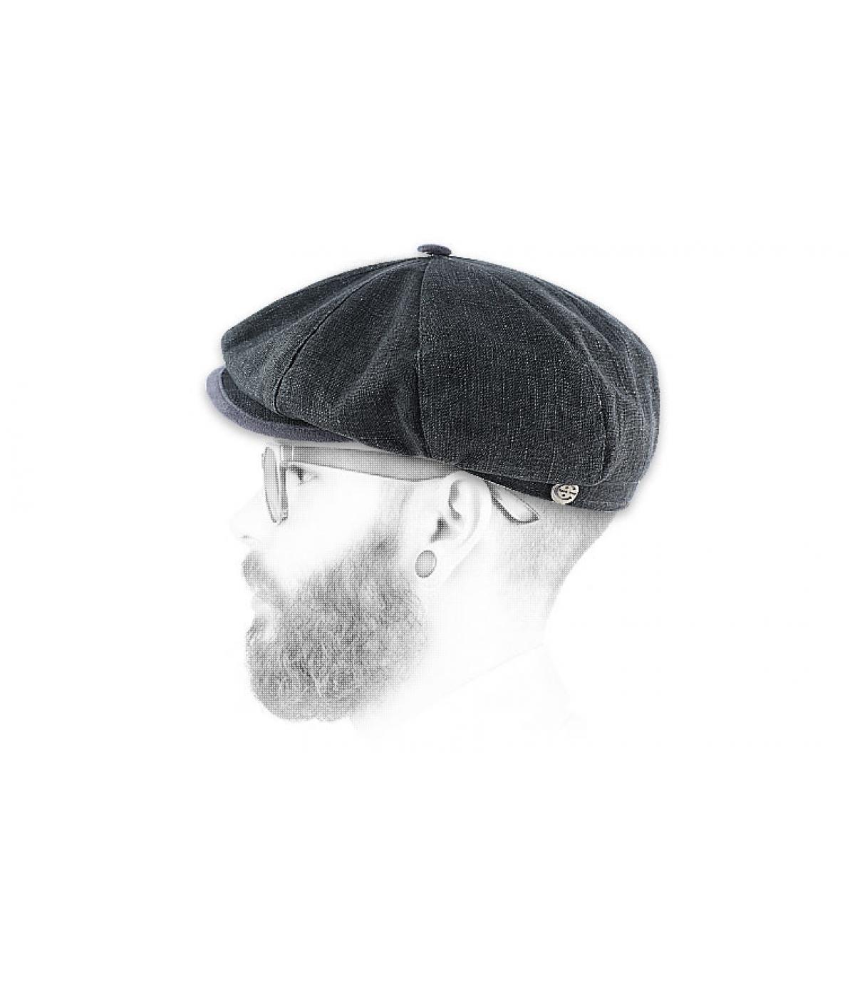 Détails Gatsby lin gris - image 2