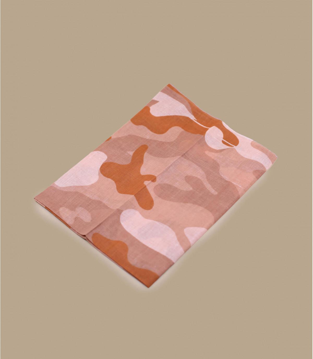 bandana camo rose