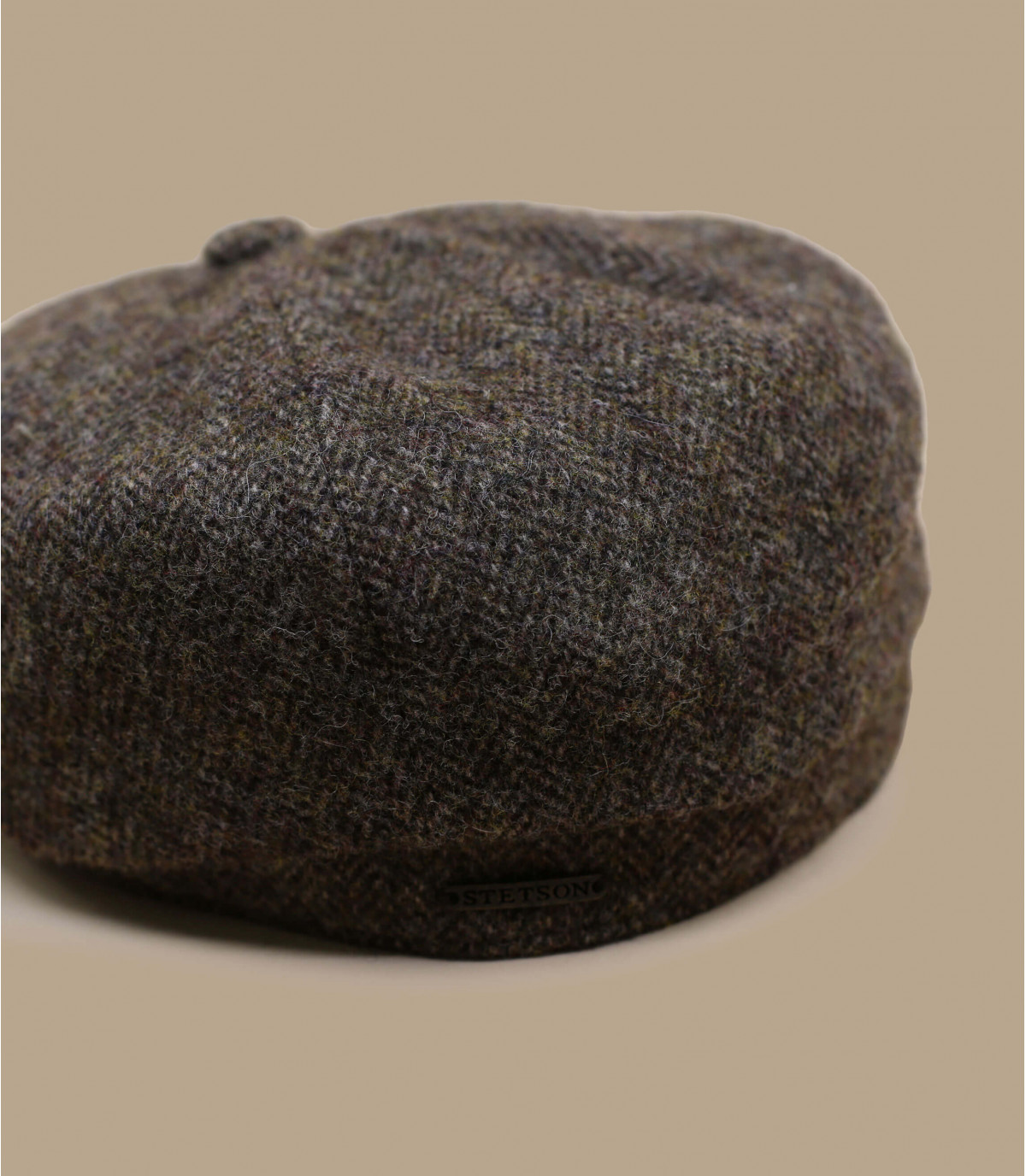 Stetson hatteras marron