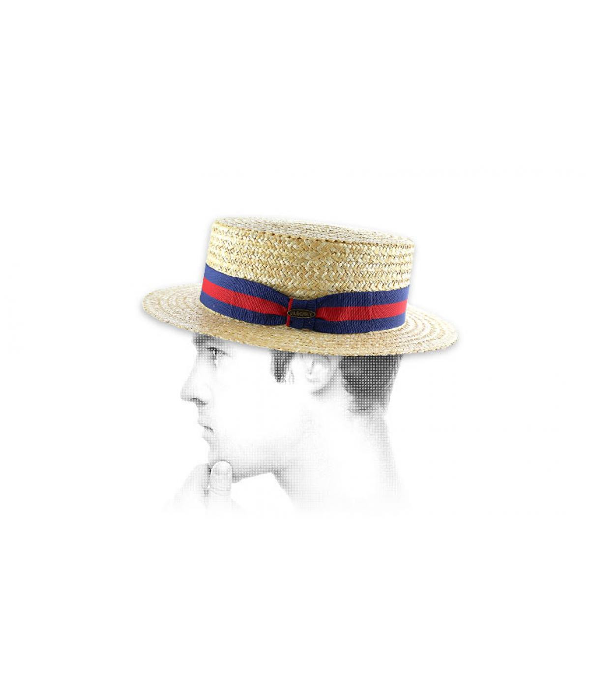 Chapeau canotier homme Fléchet