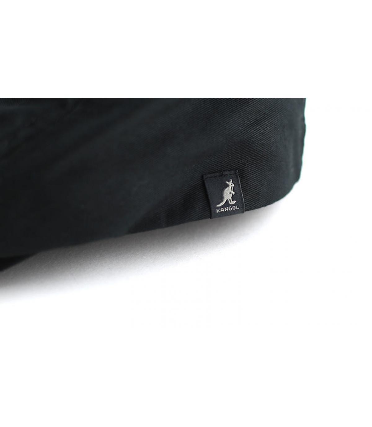 Détails Cotton cap noir - image 3