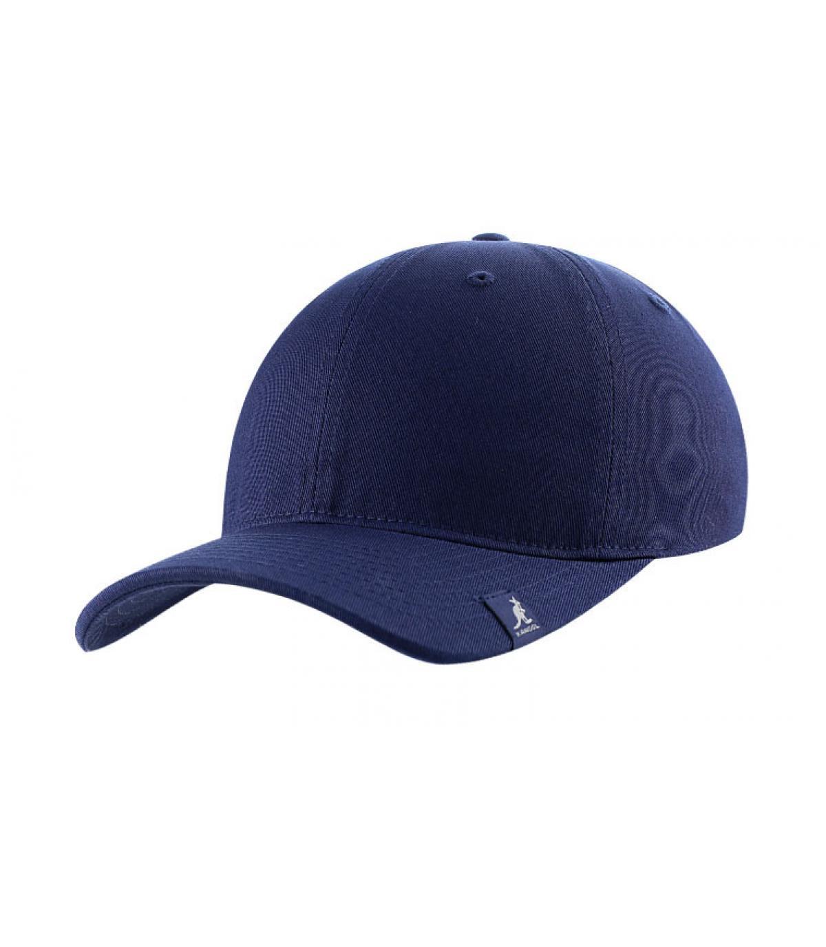 Casquette baseball bleu marine
