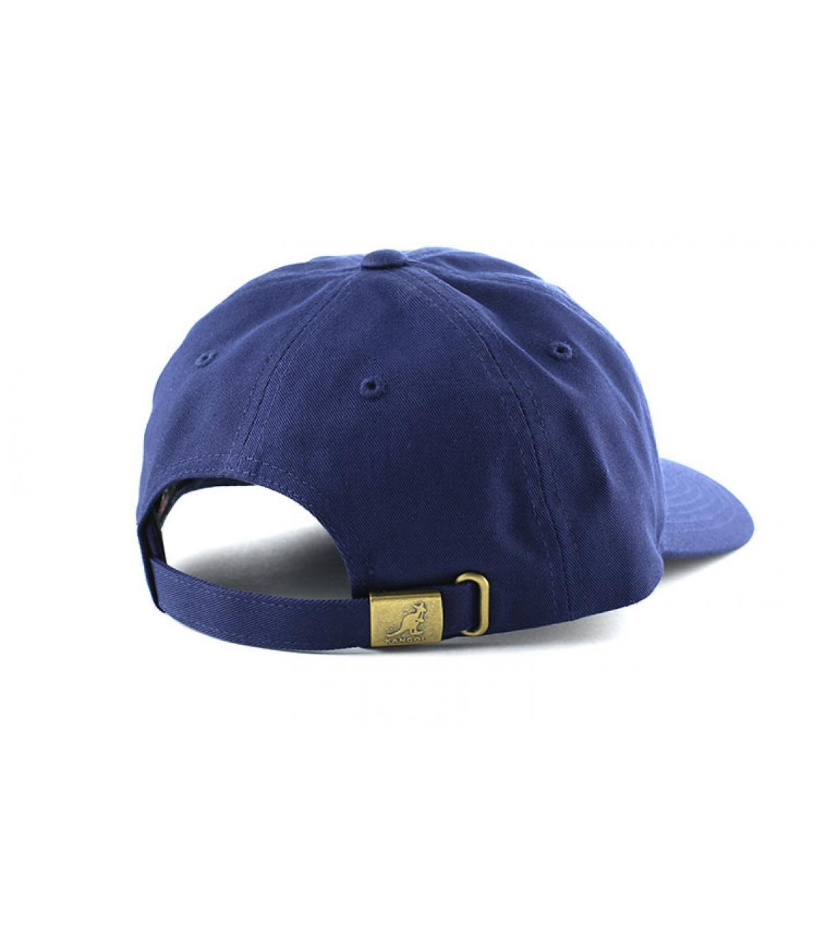 Détails Cotton adjustable baseball bleu marine - image 5