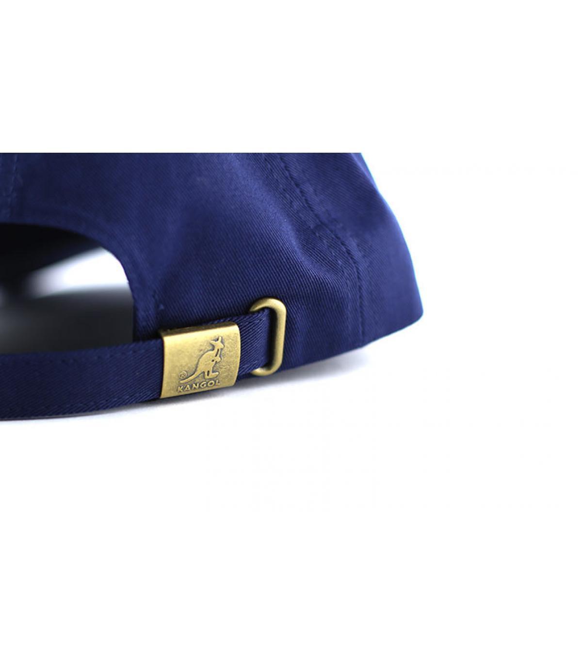 Détails Cotton adjustable baseball bleu marine - image 6
