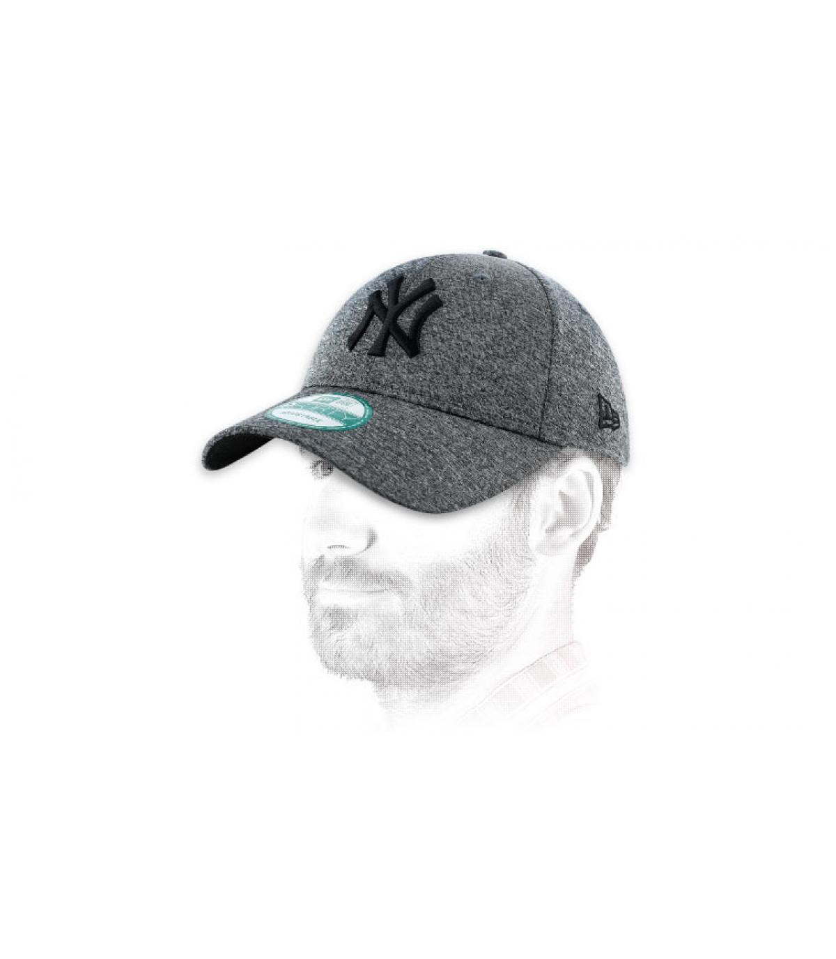 Casquette trucker grise NY