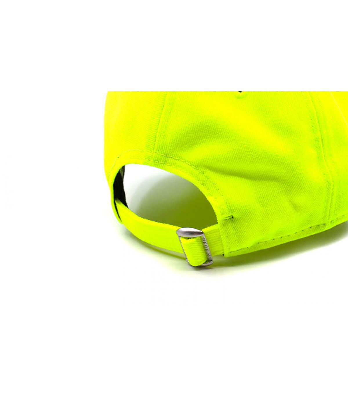 Détails Casquette NY 9forty neon yellow white - image 5
