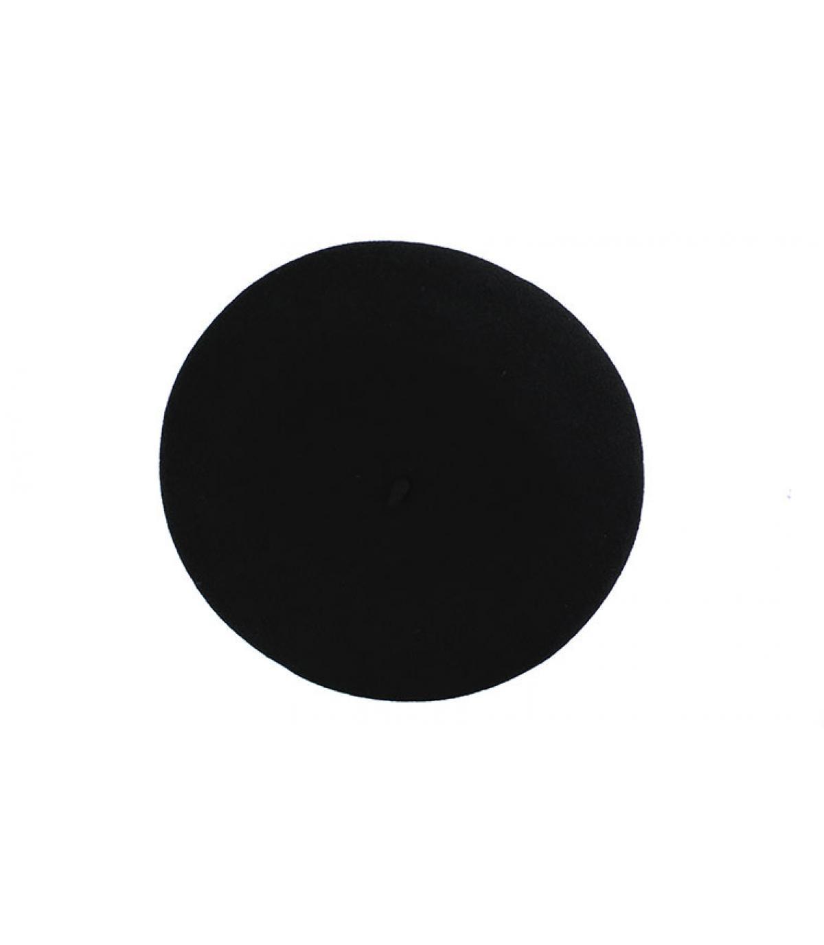 Détails Beret français Pedrito noir - image 2