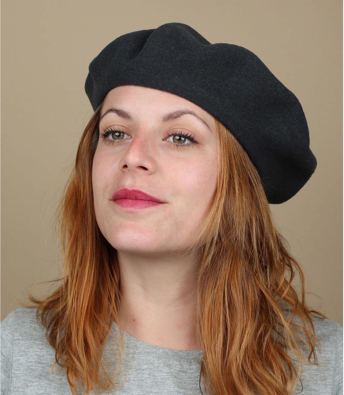 Béret français femme