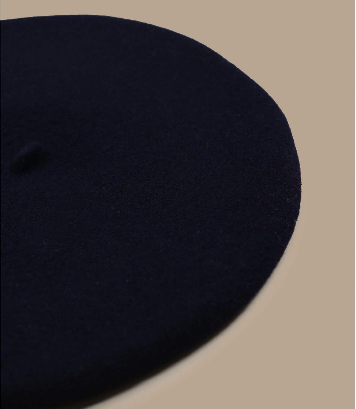Béret bleu marine femme