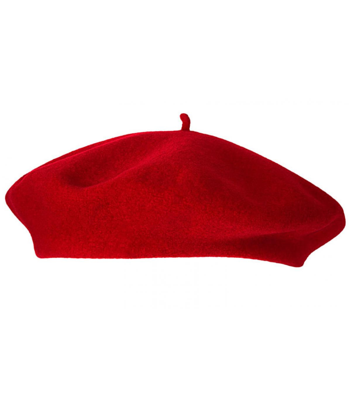 b ret rouge femme beret paris hermes par laulhere headict. Black Bedroom Furniture Sets. Home Design Ideas