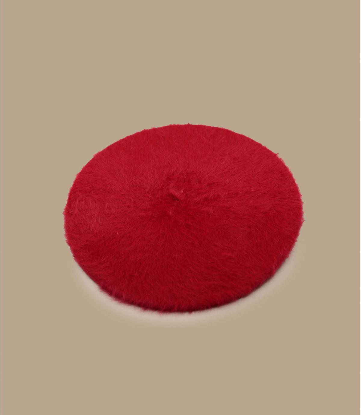 Béret angora femme