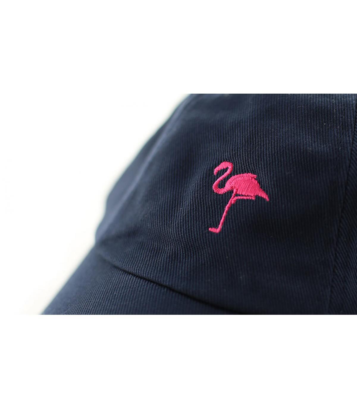 Détails Casquette Flamingo navy - image 3