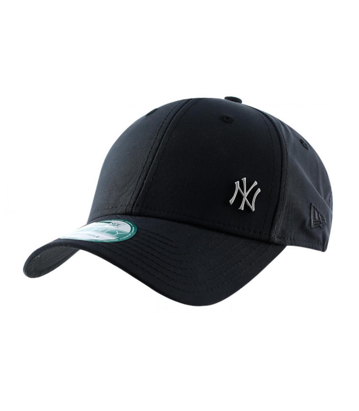 a49b160e0059 Casquette noire petit logo NY - Casquette NY flawless black par New ...