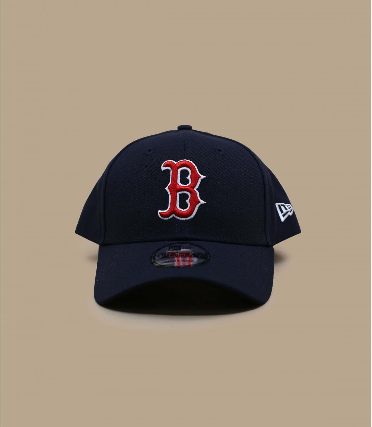 casquette visière courbée boston