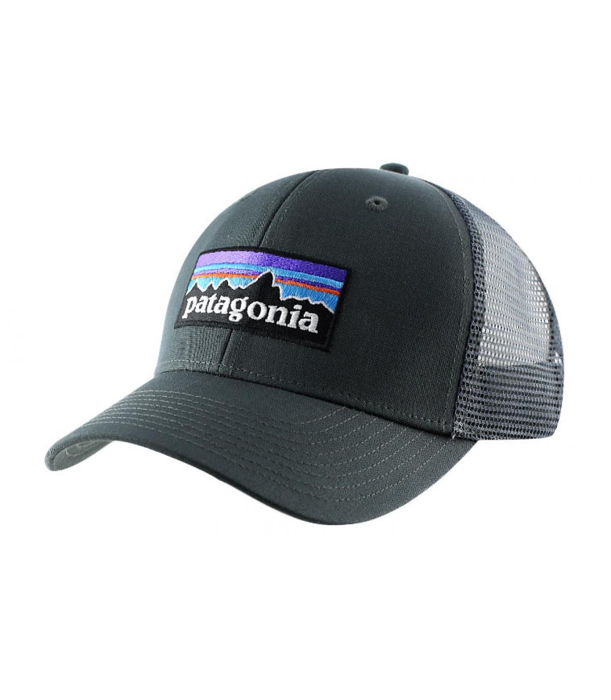 Détails P6 logo trucker hat forge grey - image 2
