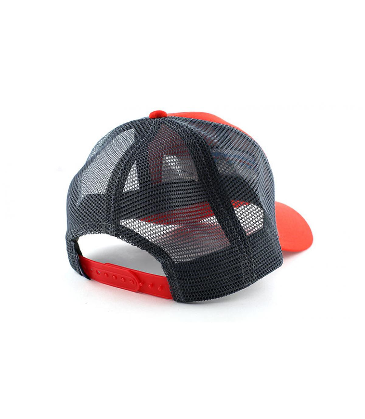 Détails P6 logo trucker hat french red - image 5