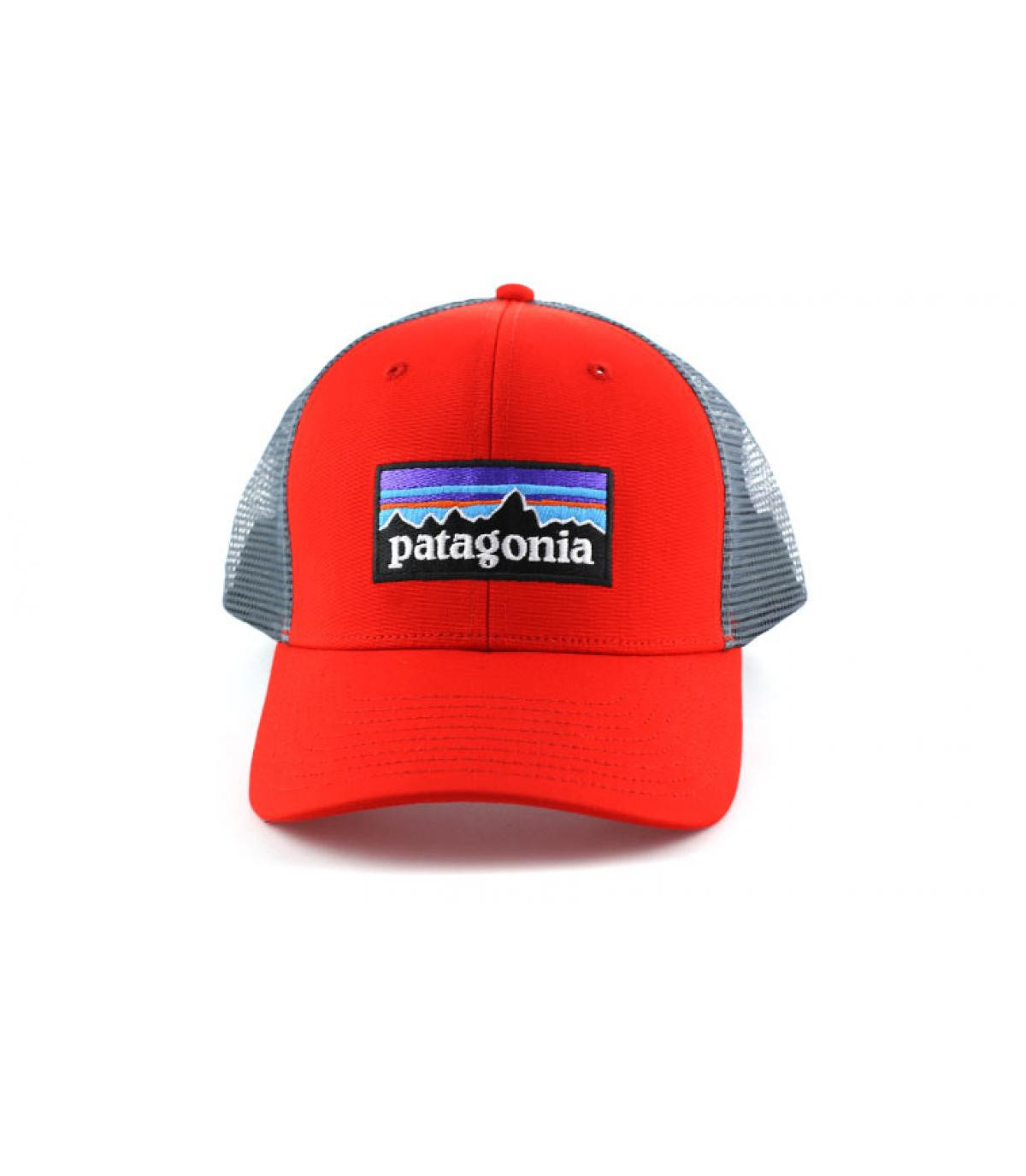 Détails P6 logo trucker hat french red - image 6