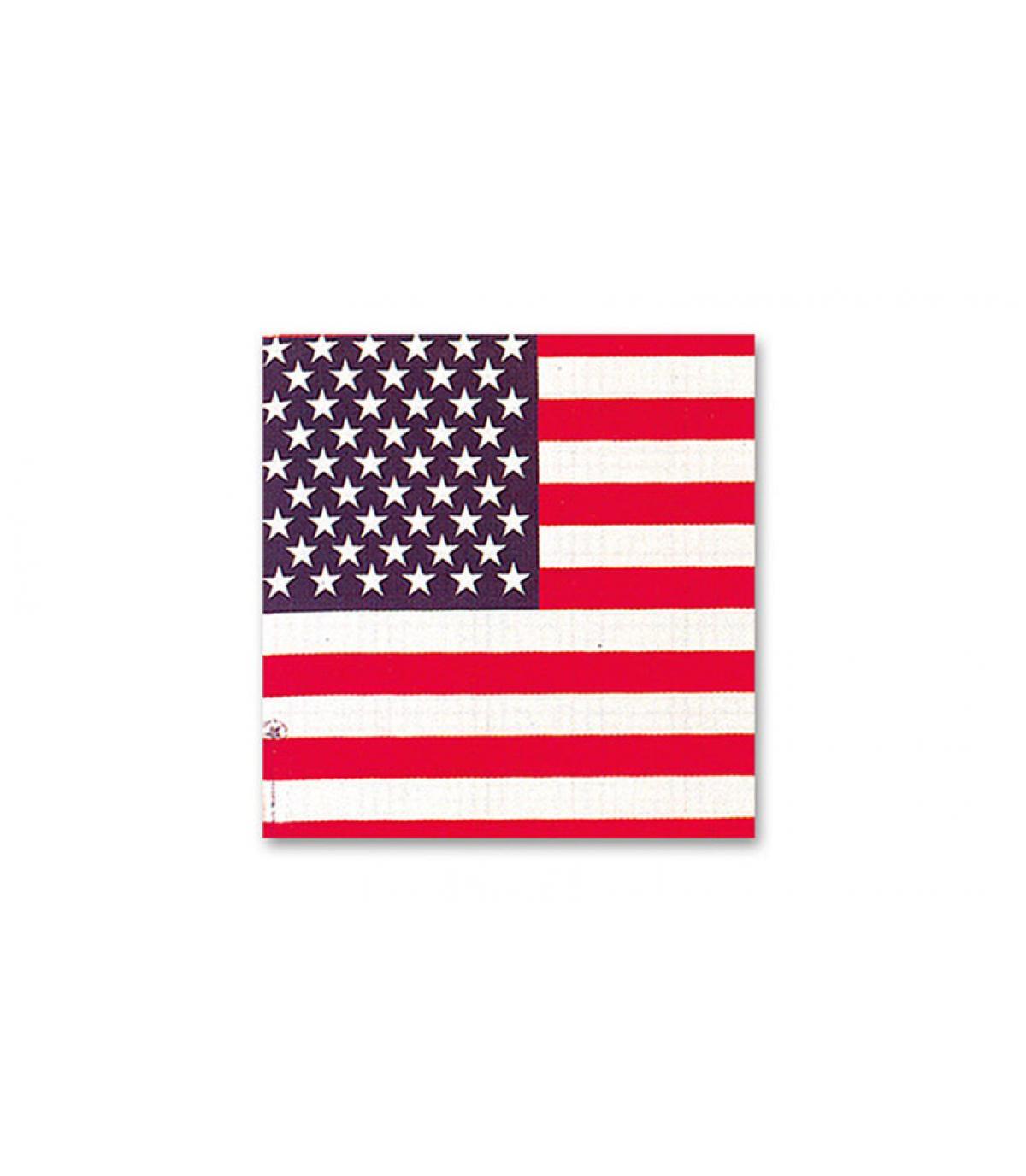 bandana drapeau US
