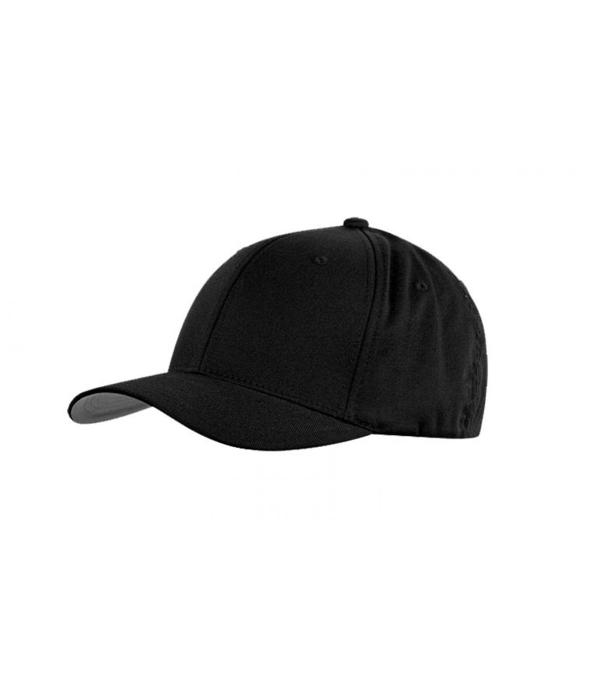 casquette noir homme flex fit 6ef398c84c42