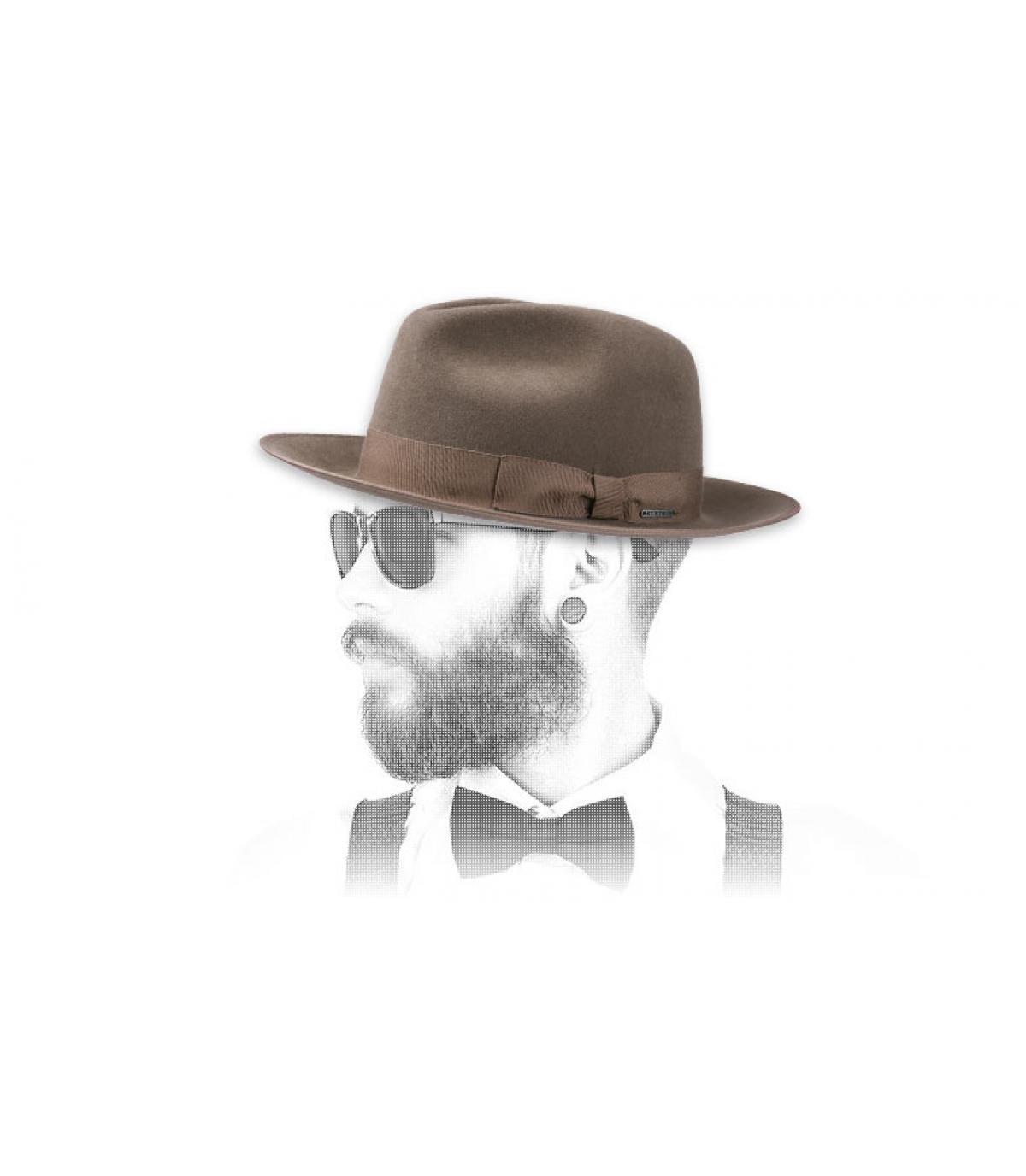 Chapeau feutre poil Stetson