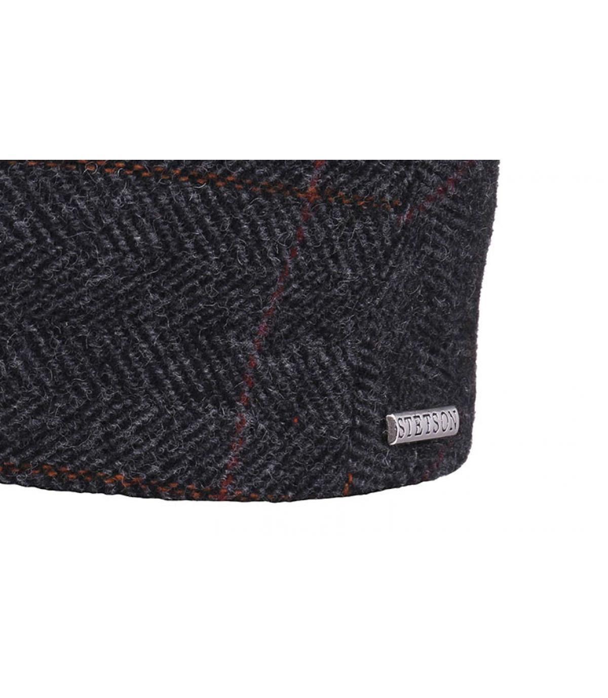 Détails Kent wool Earflap grey - image 3