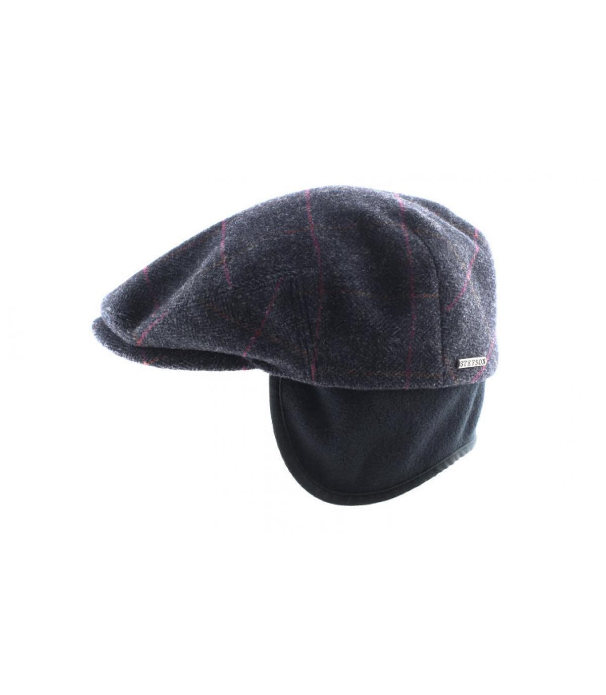 Détails Kent wool Earflap grey - image 4