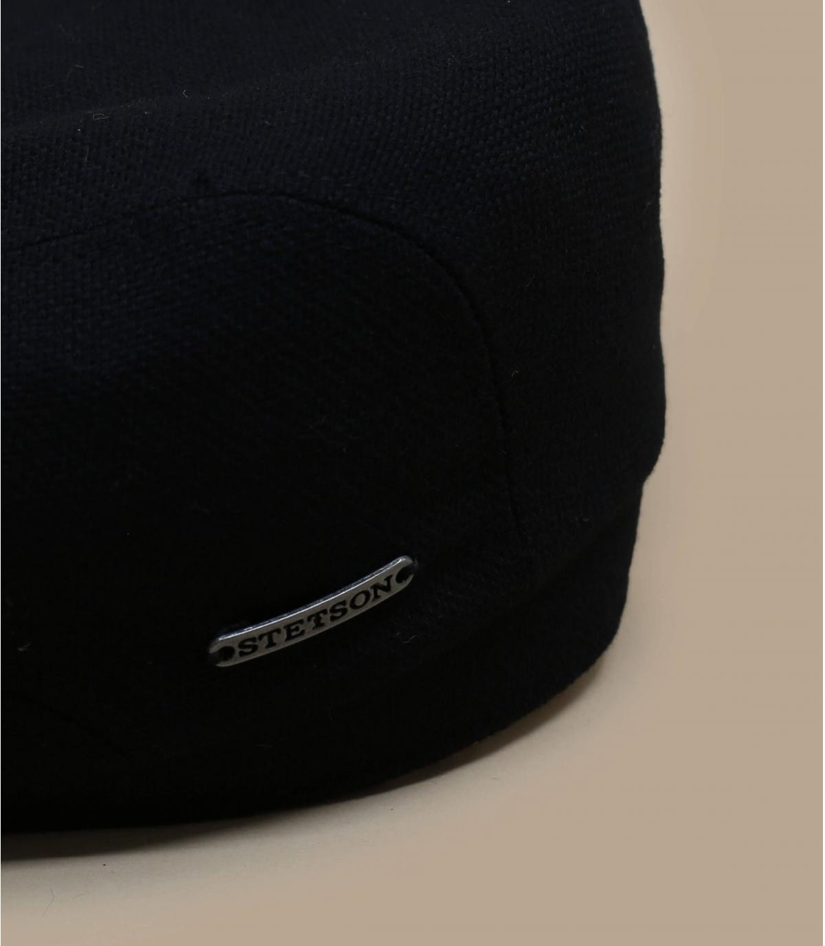 Gavroche laine cachemire noir