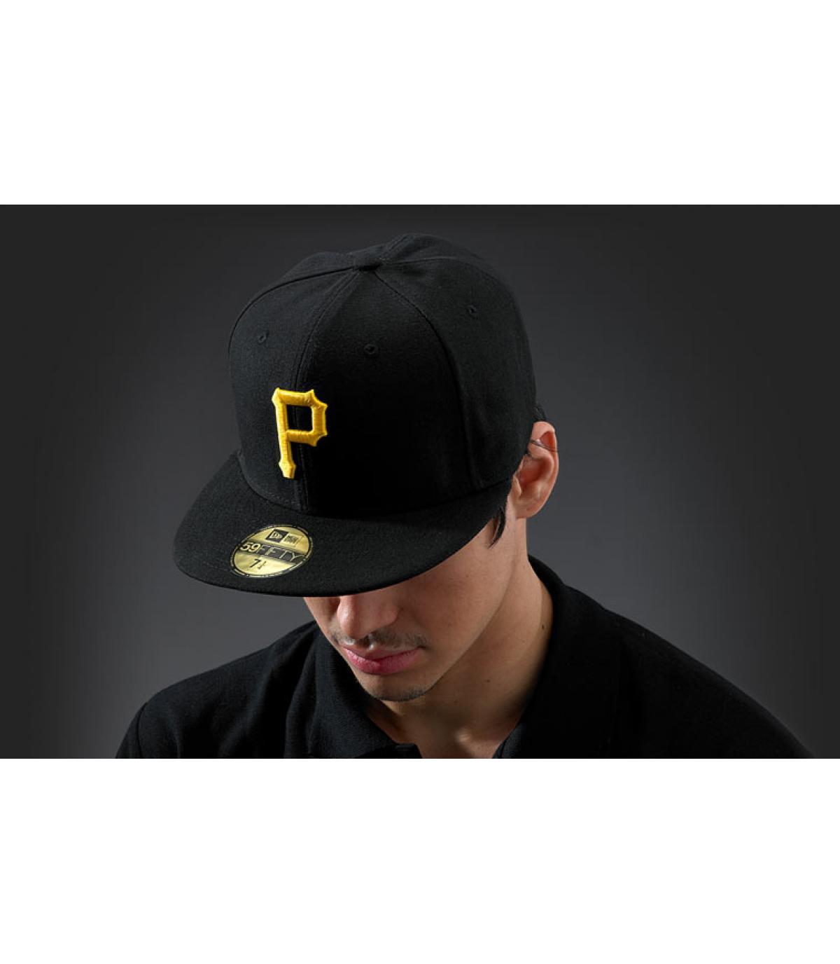 Casquette Pittsburgh noire