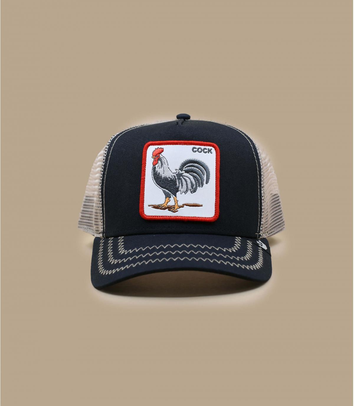 casquette trucker coq