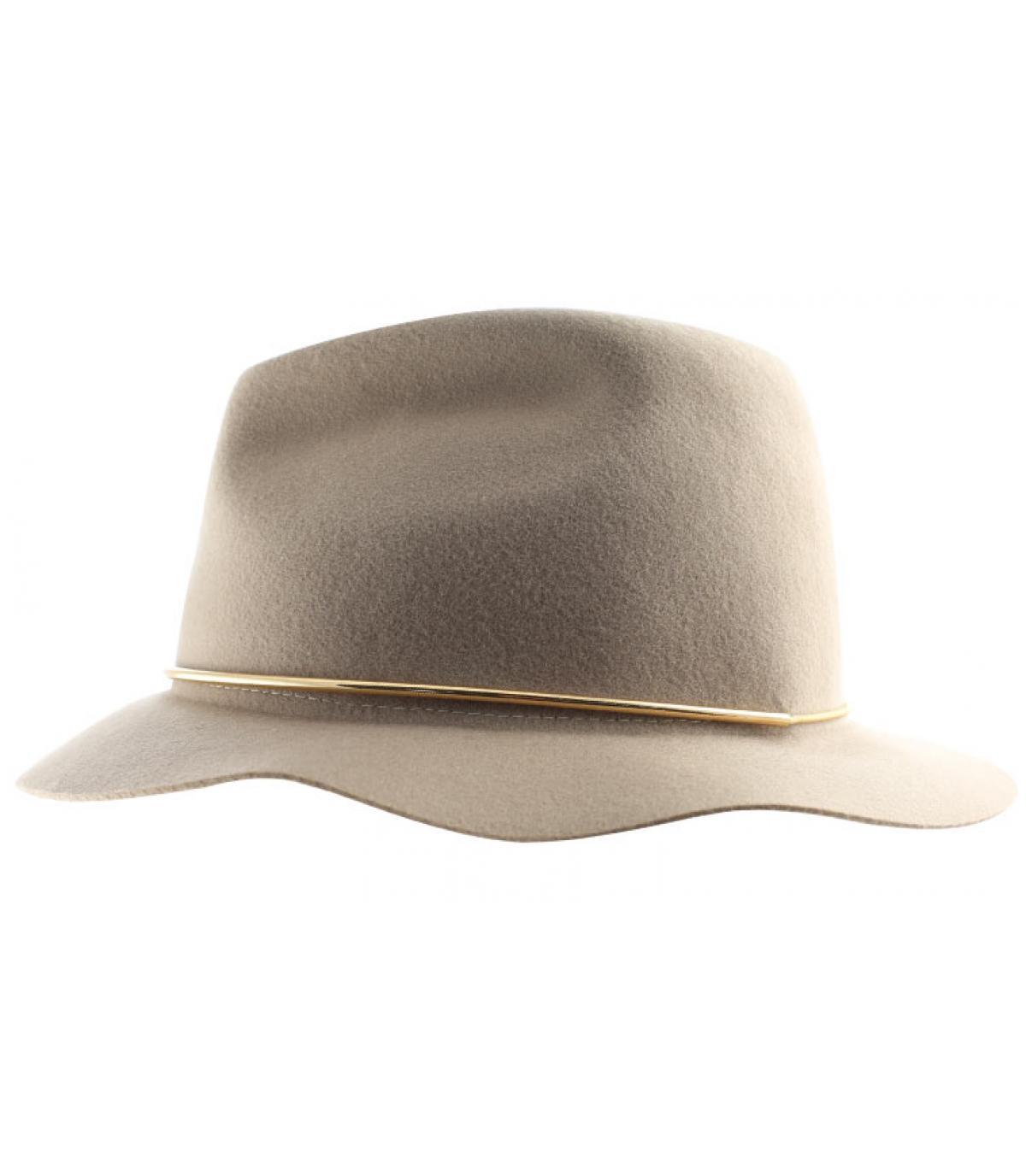 Chapeau fedora femme
