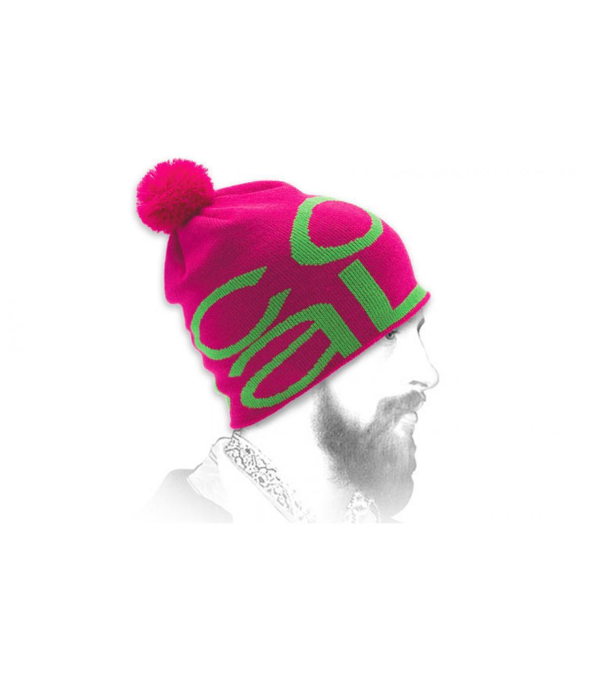 Bonnet The logo magenta