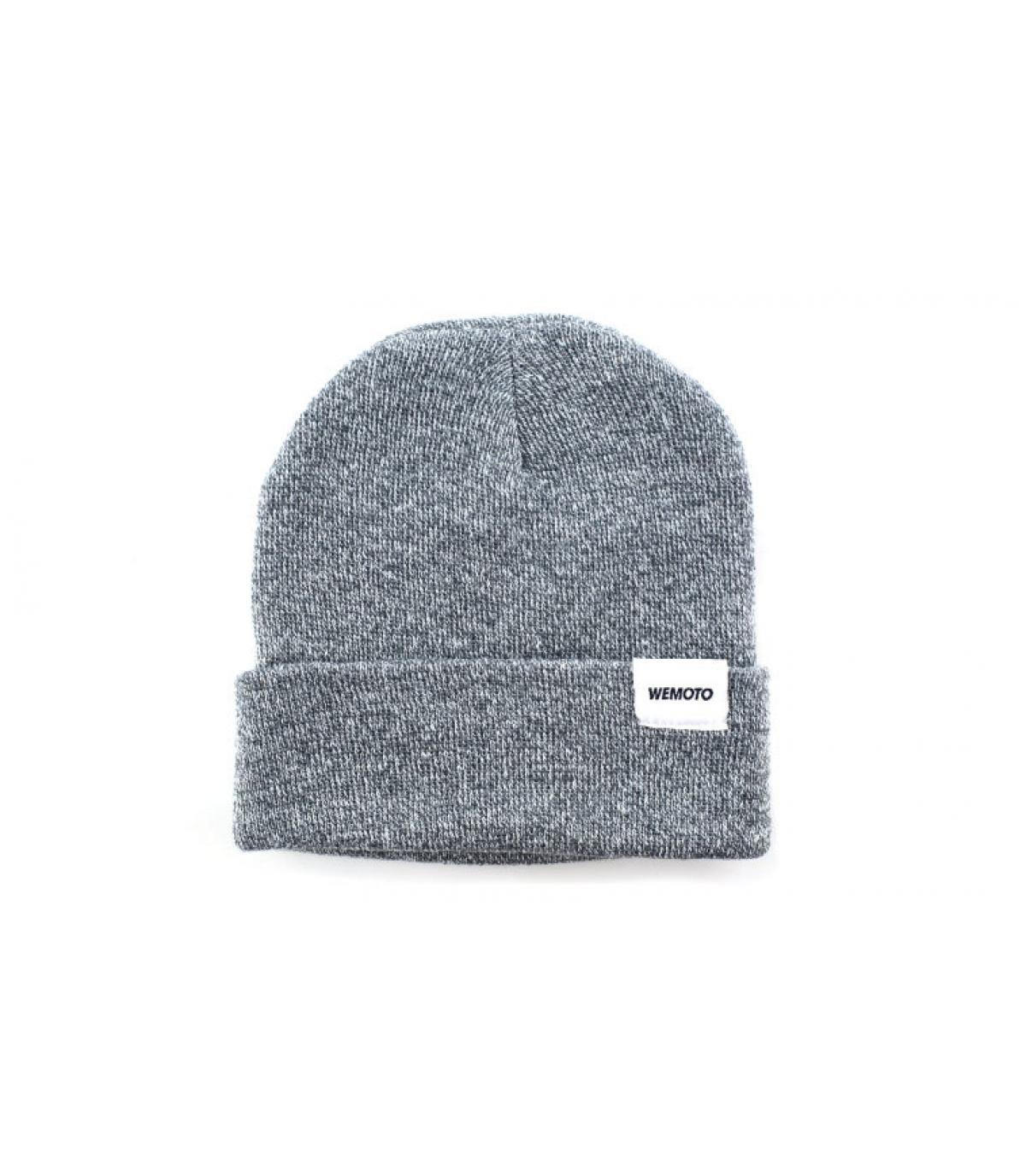 bonnet revers gris