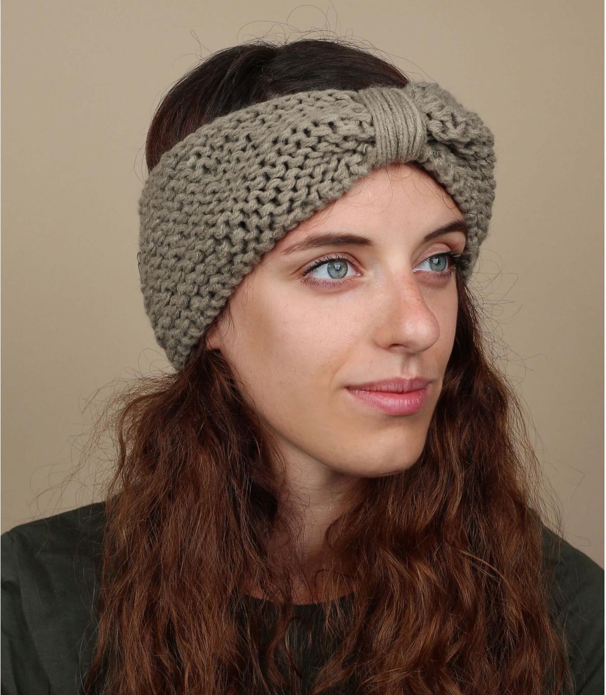 Headband nœud hiver