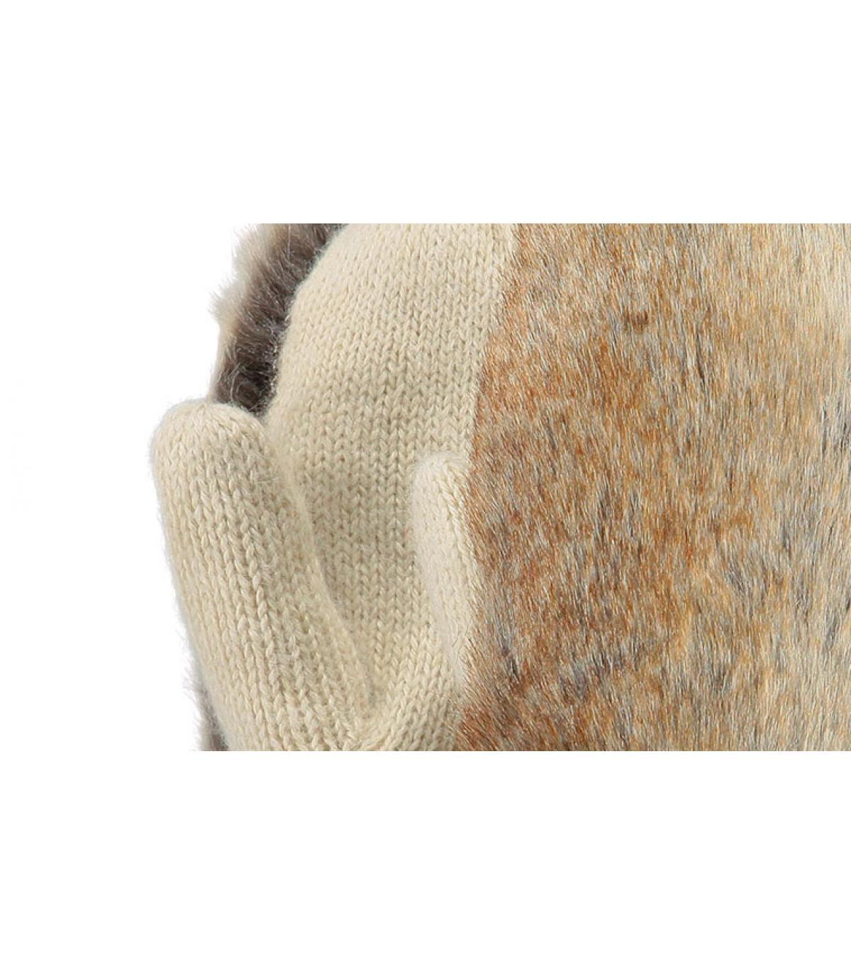 Détails Amaranth paws beige - image 2
