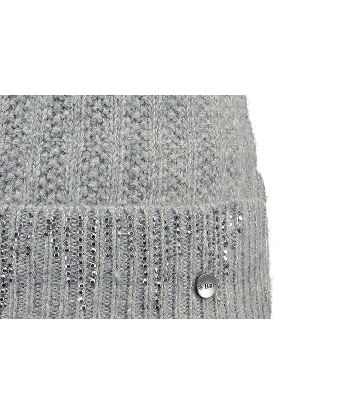 Détails Marigold beanie heather grey - image 3