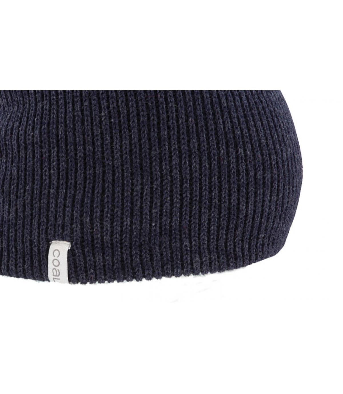 Détails The frena solid heather navy - image 2