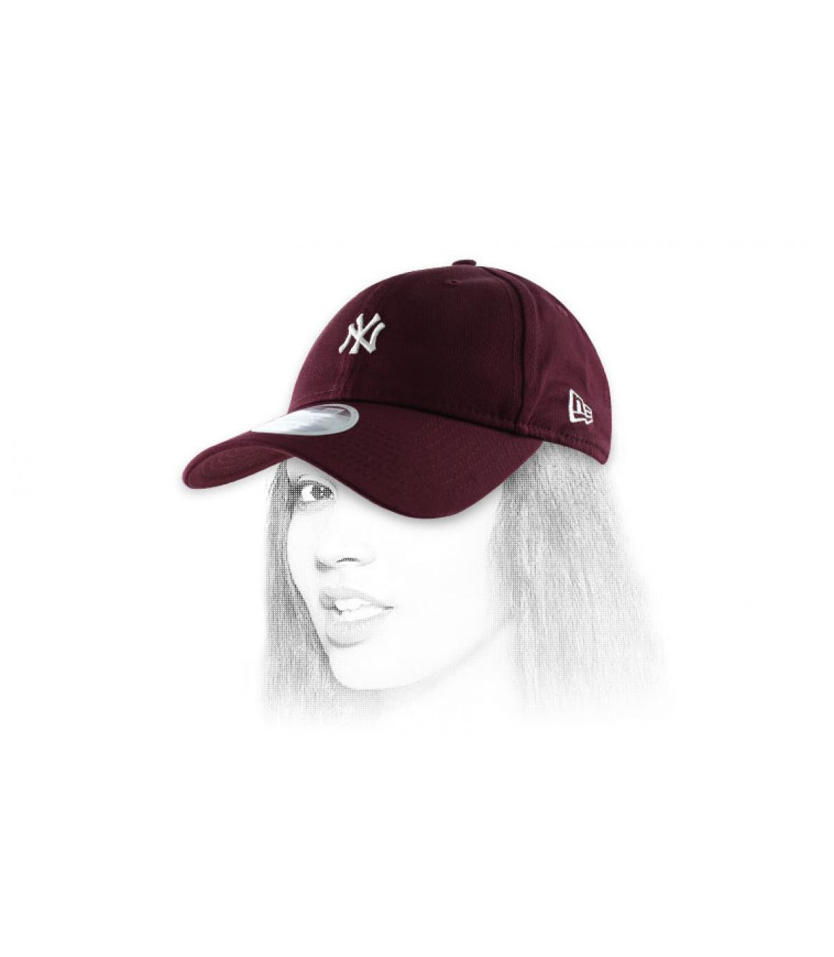 Casquette NY femmes