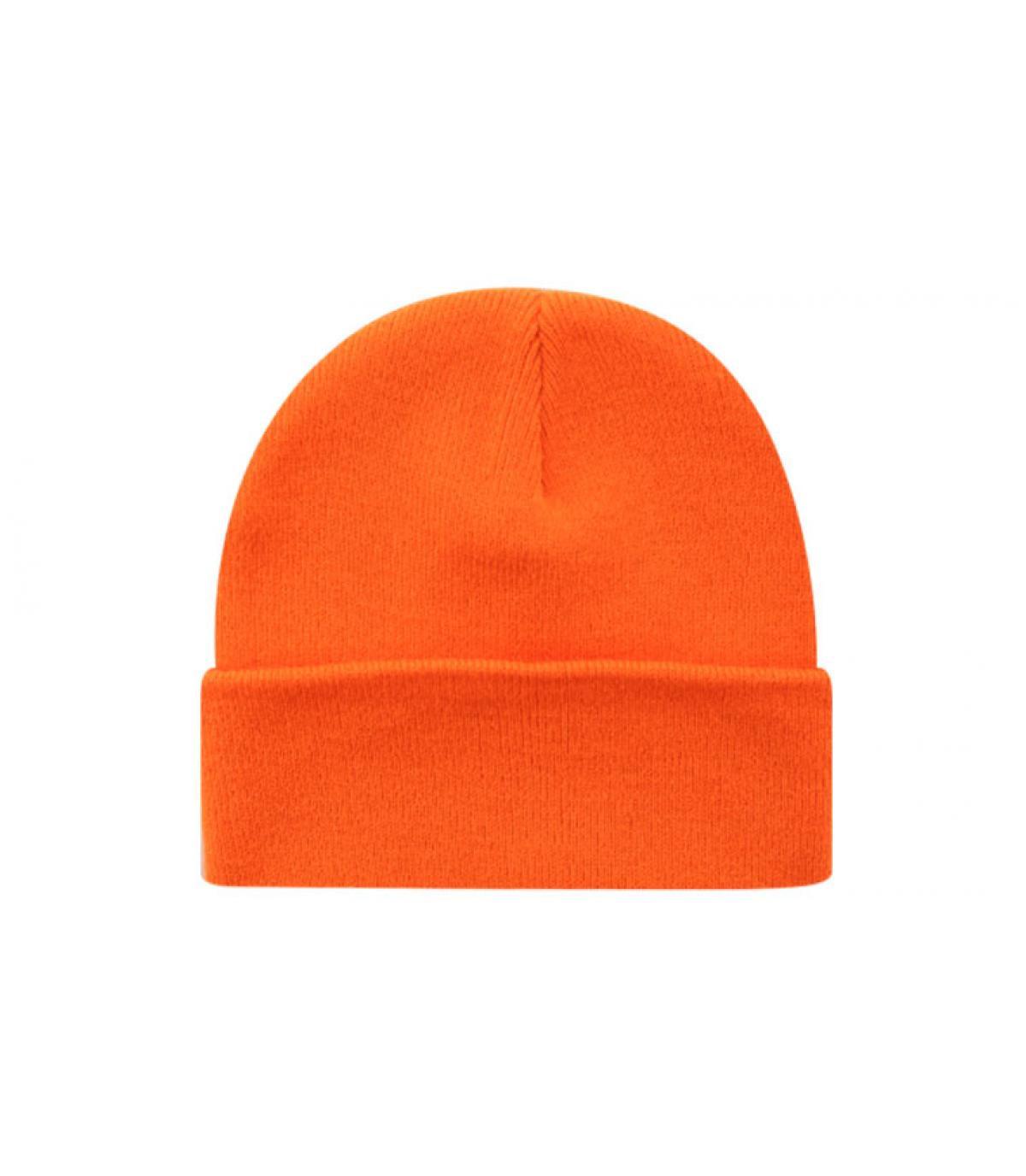 Bonnet blank orange