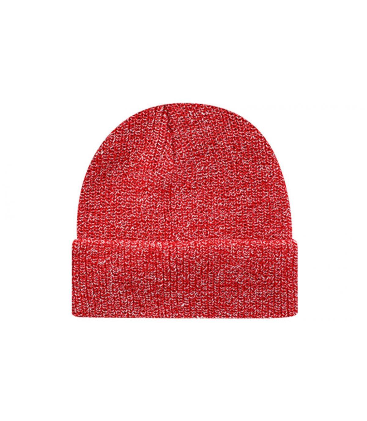 Bonnet blank heather red