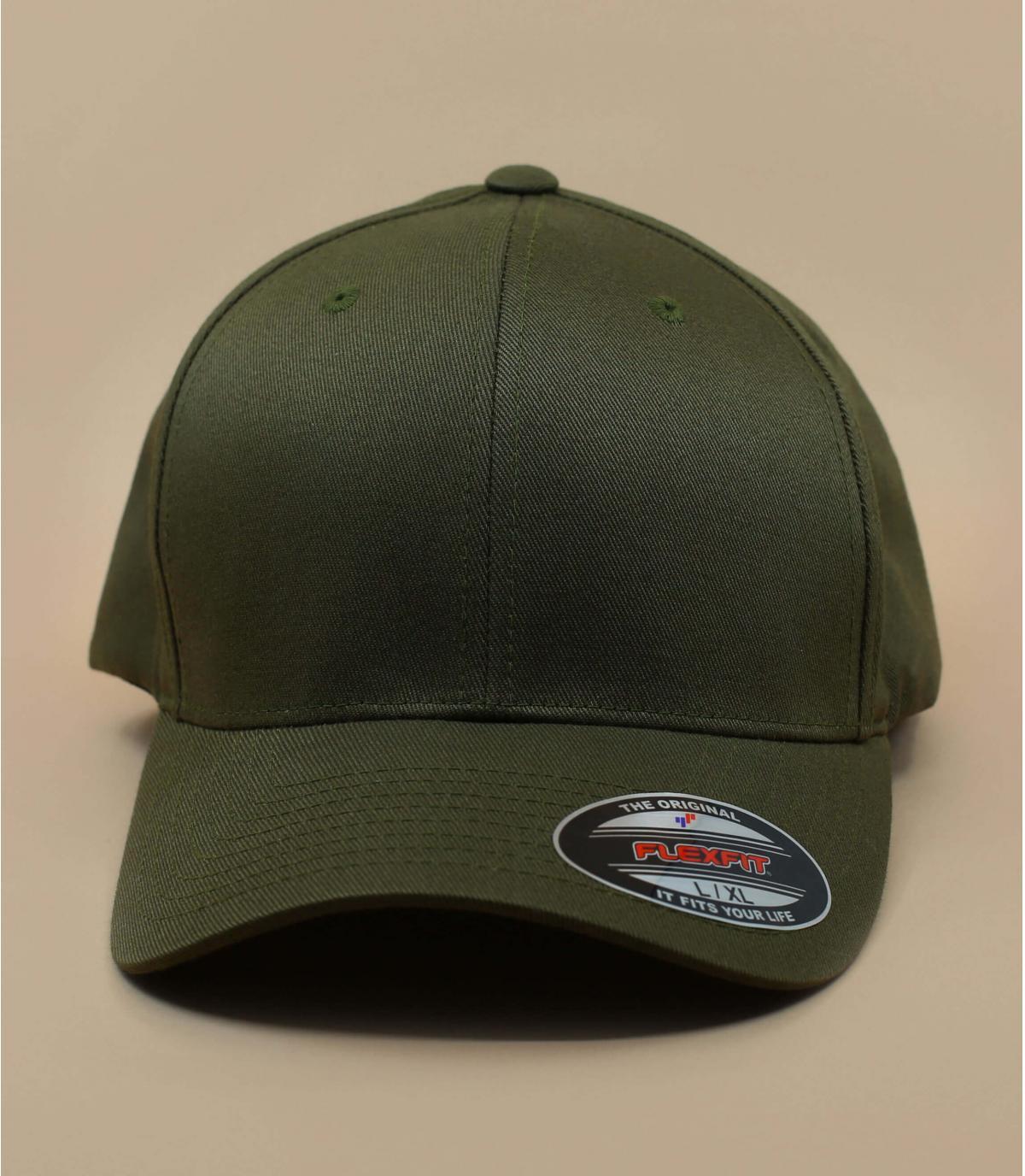 casquette curve vert olive