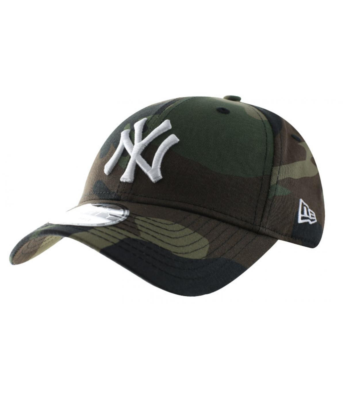 d4dee476d4f4 casquette curve camo NY - Casquette NY MLB League camo par New Era ...