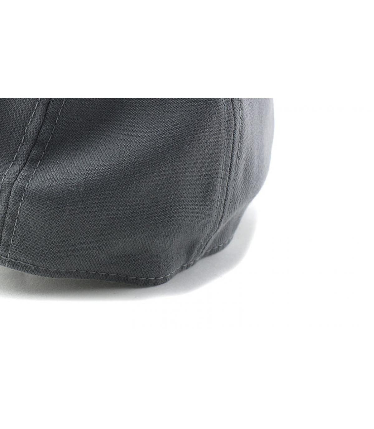Détails Casquette NY Flock Logo Stretch graphite black - image 5