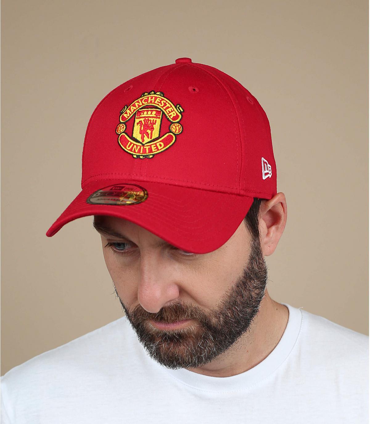 a486974137e Cap rouge Manchester United
