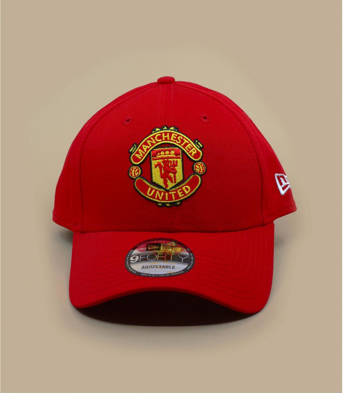 Cap rouge Manchester United