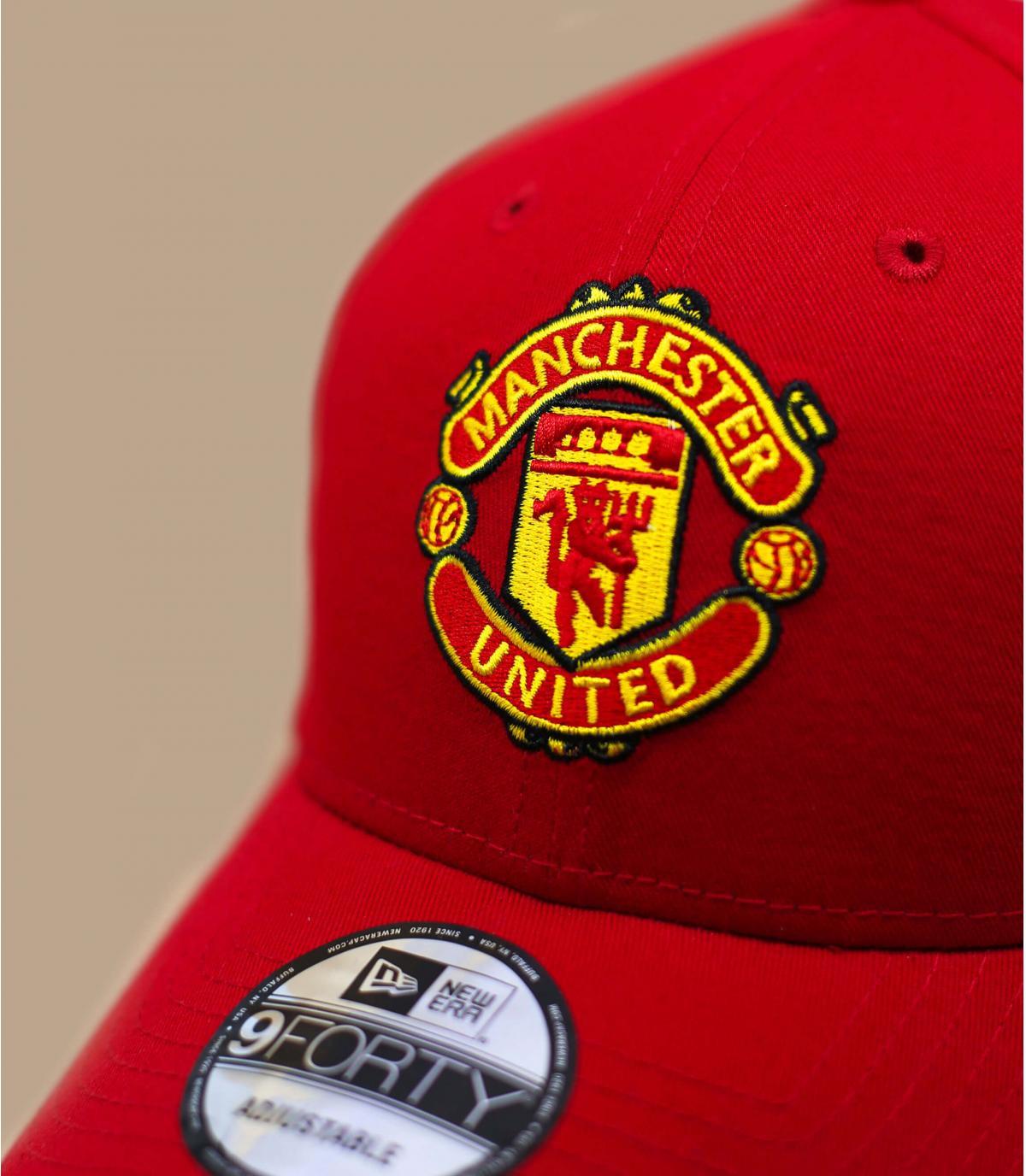 Détails Casquette Manchester United red - image 3